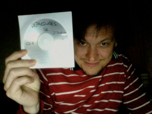 """here is the master CD of """"Departures"""""""